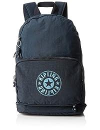 Kipling Classic Niman, mochila para mujer 49 x 43 x 18, Azul, Only Size