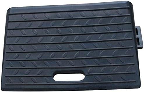 ガレージ縁石スロープノンスリップラバーステップマット多機能カーサービススロープポータブル車椅子スロープより良い耐荷重 段差プレート・スロープ