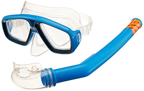 Aviator Swim Mask - Swimline Thermotech Tetra Mask and Snorkel Set