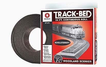 Woodland Scenics O Scale Track-Bed Roll