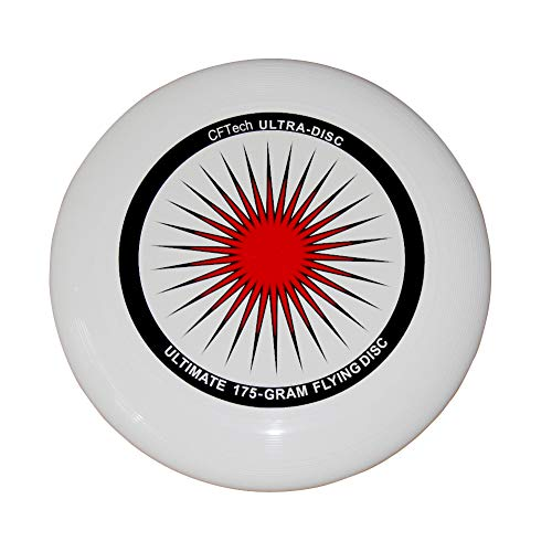 Flying Disc CFTech Ultimate Sport Disc Durable and Long Flight, 175 Gram, Diameter 11 inch ()