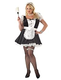 California Costumes Women's Fiona,The French Maid Costume