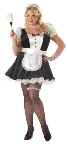 California Costumes Women's Fiona, Black/White, 1XL (16-18) Costume (Fiona Adult Costume)
