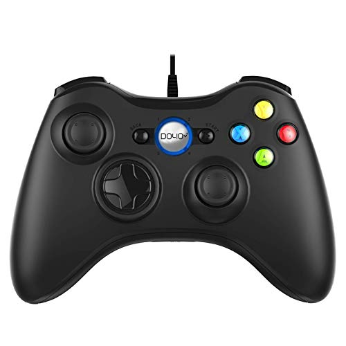 Wired Game Controller Gamepad Joystick for PC/PS3/Android with Vibration Feedback – PC/PS3/Android/Steam USB Gaming…