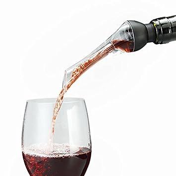 Sorliva - Dispensador de vino Woodpecker instantáneo aireador decantador de vino rojo rápido decantador de vino