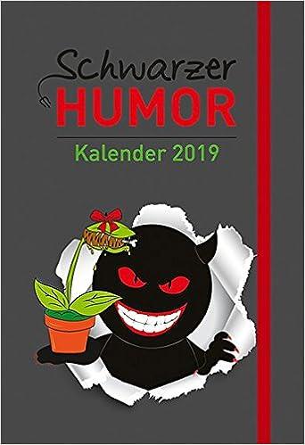 Schwarzer Humor Kalender 2019 Taschenkalender Mit Lesebandchen