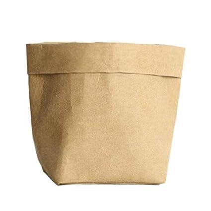 Amazon.com: Bolsa de almacenamiento para macetas de papel ...