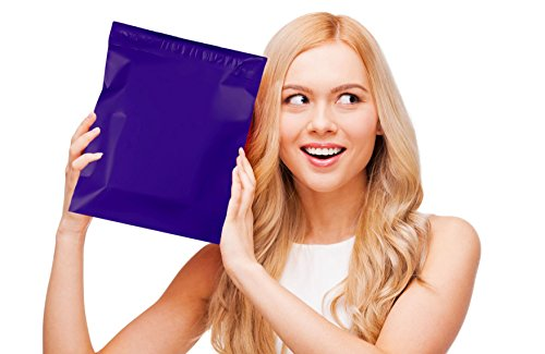Poly mailers 10x13 Shipping bags 10 x 13 by Amiff. Pack of 100 Dark Blue Large envelopes. 2.5 mil thick mailing bags. Peel & Seal. Waterproof & Lightweight. Wrapping & Packing & Packaging. by Amiff (Image #5)'