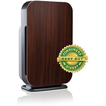 Alen FLEX Customizable BreatheSmart Air Purifier, Ultra Quiet, with HEPA Filter for Allergies & Dust in Espresso, 700 sq. ft.