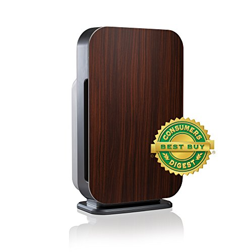 Alen FLEX Customizable BreatheSmart Air Purifier, Ultra Quiet, with HEPA Filter for Allergies & Dust in Espresso, 700 sq. ft.