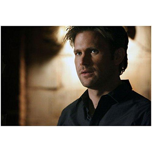 The Vampire Diaries (TV Series 2009 - ) 8 inch x 10 inch photograph Matthew Davis Head Shot Eyes Looking Left Black Shirt kn