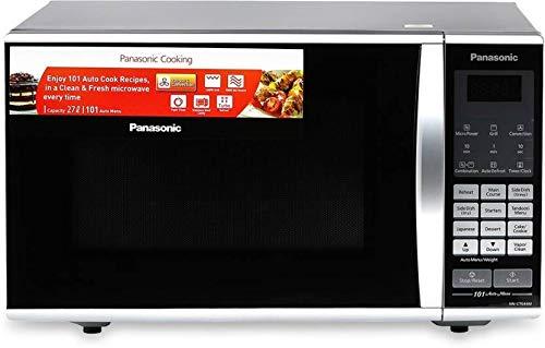 Panasonic 27 L Convection Microwave Oven (NN-CT644M, Black)
