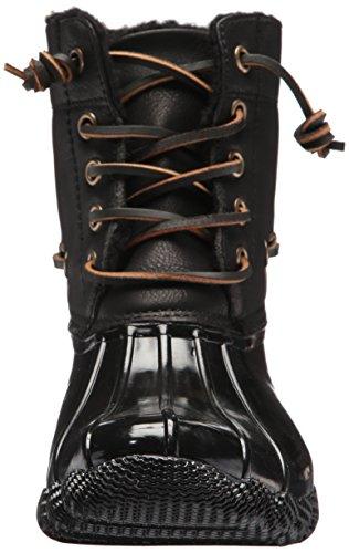 Steve Madden Womens Torrent Rain Boot Black QgisD61CyO