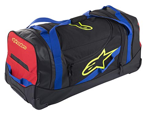 Komodo Travel Bag (One Size, Black Blue Red Yellow Fluo)
