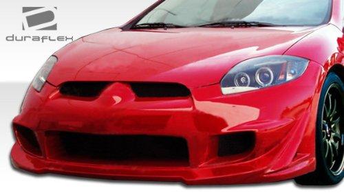 Duraflex ED-YYO-183 Eternity Front Bumper Cover - 1 Piece Body Kit - Compatible For Mitsubishi Eclipse - Eclipse Fiberglass Hood