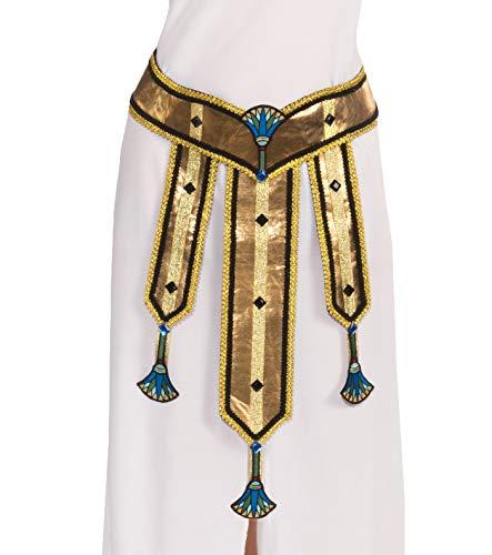 Forum Novelties Women's Deluxe Female Egyptian Costume Belt, Multi Colored, One Size