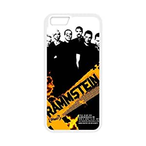 iPhone 6 4.7 Inch Case White Rammstein Cell Phone Case Cover C1O0LX