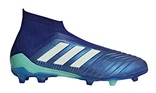 (adidas Kid's Predator 18+ FG Soccer Cleats, 4.0 D(M) US, Footwear Unity Ink/Aero)