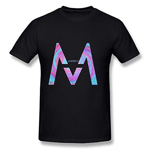 Maroon 5 Tour 2016 Logo Fan Logo Tee Shirt For Men