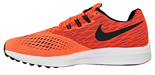 4 Red Winflo Nike Entrenamiento Track Hyper Orange Black para de Hombre White Zapatillas Zoom qax117EZ