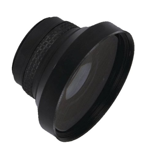 0.21x High Definition Fish-Eye Lens (25mm) For Sony Handycam DCR-DVD101