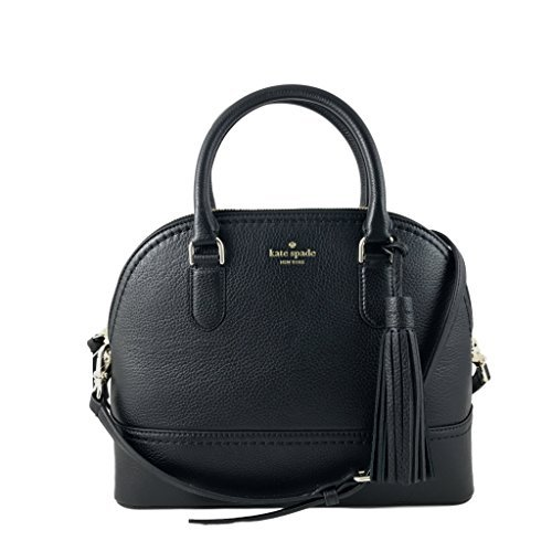 Kate Spade New York Carli Mccall Street Leather Satchel in Black by Kate Spade New York