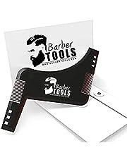 ✮ BARBER TOOLS ✮ baardsjabloon   baard styling tool   sjabloon voor het scheren   baardkam. Met zijn envelop - scheerhulpmiddelen accessoires voor baardcontour.