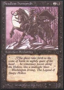 Magic: the Gathering - Headless Horseman - Legends