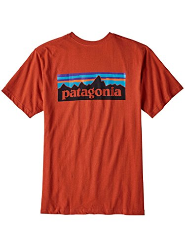 ogo Cotton T-Shirt, Roots Red, XL (Patagonia Red Shirt)