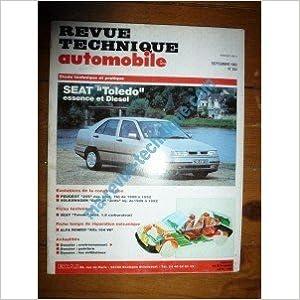 Ebook télécharger le fichier pdf RTA0554 - REVUE TECHNIQUE AUTOMOBILE SEAT TOLEDO Essence et Diesel PDF CHM B00LYQAWCU
