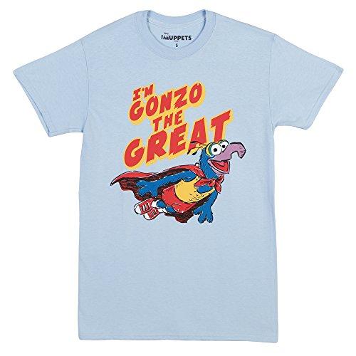 OKAYtshirt.com-4205-Muppets Gonzo the Great Adult T-Shirt-B00ZJ2CSQI-T Shirt Design