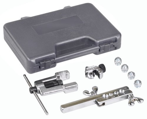 (OTC 6504 Deluxe ISO Bubble Flaring Tool Set with Cutter)