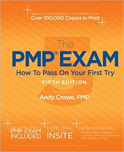 amazon com the pmp exam how to pass on your first try fifth