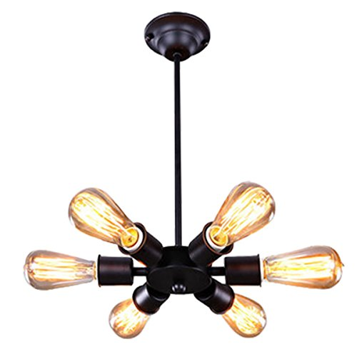 H&A Industrial Light Decorative Chandelier Pendant Lighting Fixture Vintage Ceiling Light (Type1)