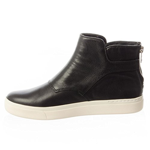 Timberland Womens Amherst Buckle Chelsea Leather Boots Jet Black