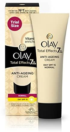 Olay Day Cream Total Effects 7 in 1, Anti-Ageing SPF 15, 8g