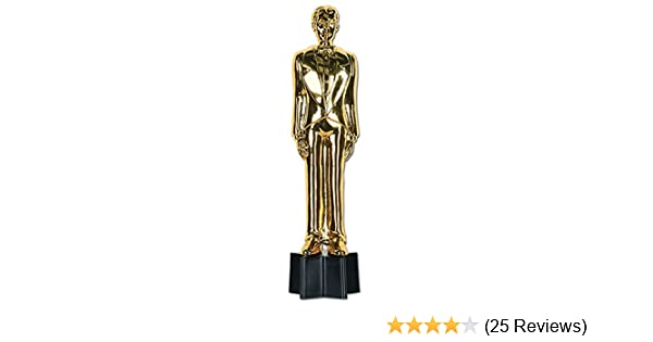 23 cm Awards Night Female Statuette Party Accessory 1 count 1//Pkg 9 in