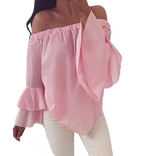 [S-XL] レディース Tシャツ ベルスリーブ 無地 長袖 トップス おしゃれ ゆったり カジュアル 人気 高品質 快適 薄手 ホット製品 通勤 通学