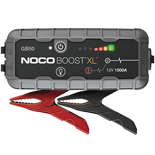 NOCO Boost XL GB50 1500 Amp 12-Volt UltraSafe Portable Lithium Car Battery Jump Starter Pack for Up to 7 Gasoline and 4-Liter Diesel - Series Diesel Xl