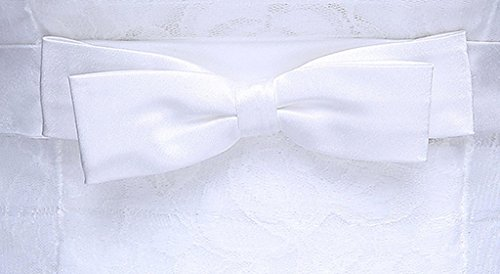 Party Neckline Homecoming Dress White Sweet Bridesmaid Evening Bowknot Prom Gowns Drasawee Maxi Lovely Lady Strapless Lace HEBw4Yq