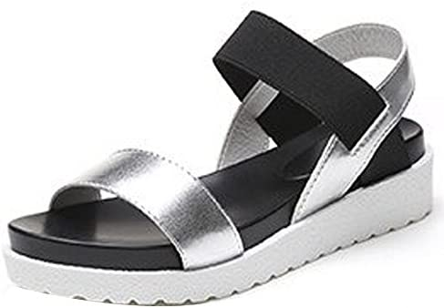 Clearance! Hot Sale! ❤️ Women's Sandals, Neartime Spring/Summer Patchwork Peep-toe Low Shoes Fashion Casual Ladies Flip Flops