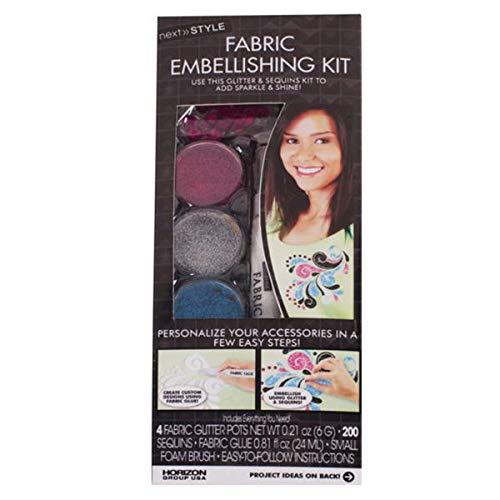 - Fashion Art Next Style Fabric Embellishing Kit - 16/Pack (1 Pack)