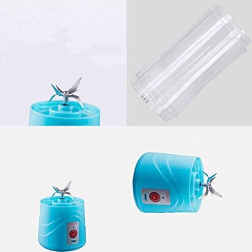 LI_HUA juicer cup persoonlijke mixer draagbare mixer USB oplaadbare outdoor Home Juicer Maker Fruit Extractor 6 messen 380 ml