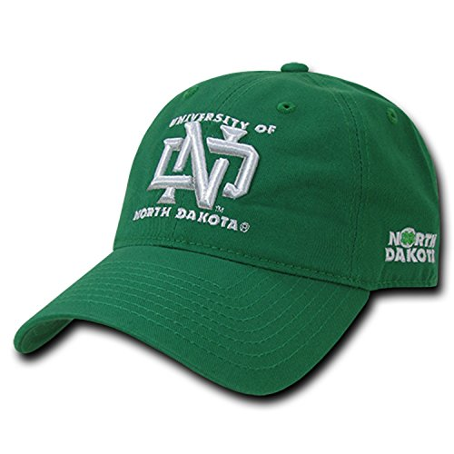 University of North Dakota UND Fighting Sioux Cotton Polo Style Baseball Ball Cap Hat