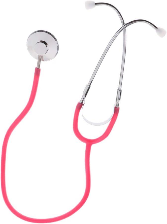 Gr/ün Kleinkind Arzt Doktor Rollenspiel Arztkoffer Zubeh/ör D DOLITY Kinder Stethoskops Spielzeug