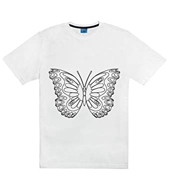 081171b2ff778e Amazon.com : Coloring T-shirt Kit... Children Tees to Color Wear Wash  Recolor : Baby