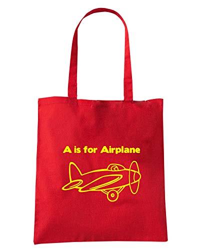 Speed Shirt Borsa Shopper Rossa FUN0521 AIRCRAFT