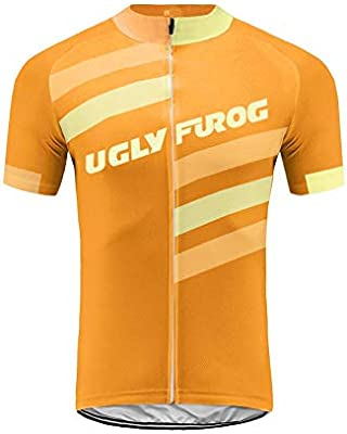 Uglyfrog MTB Ropa Ciclismo Maillot Manga Corta Spinning Carretera ...