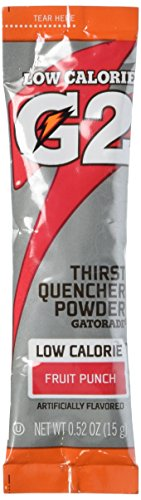 Gatorade Thirst Quencher Powder, Fruit Punch  (8-0.52oz packets per canister) 1 canister ()