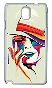 Zenzzle Hard Skin Case for Samsung Galaxy Note 3 - Melting Colors Face